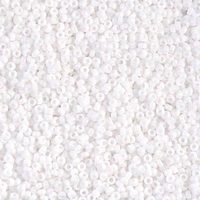 Seed beads 15 0 white opaque
