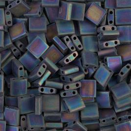Tila beads matted multi iris